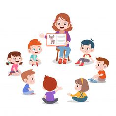 teacher and student in class illustration Student Cartoon, Cartoon Kids, Childhood Education, Kids Education, School Murals, School Clipart, Video X, English Classroom, Happy Kids