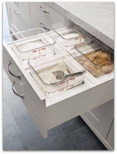 Küche einräumen
