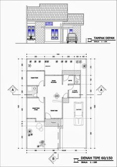 Beautiful House Plans, Dream House Plans, House Front Design, Small House Design, Minimalist House Design, Minimalist Home, Affordable Bedroom Sets, Civil Engineering Design, Apartment Layout