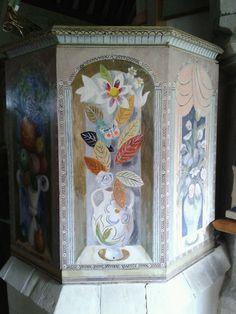 Bloomsbury group hand-painted altar