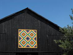 """Home of Suzi Parron, author with Donna Sue Groves of 'Barn Quilts and the American Quilt Trail Movement"""" and author of """"Following the Barn Quilt Trail."""""""