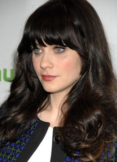 Zooey Deschanel Hair