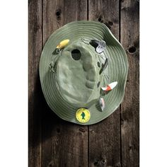 sean would love this! Fishing Hat Birdhouse $30 probly can find it cheaper on amazon