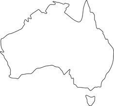 blankaustraliamaps thread blank australia map what im doin by autumn pounds pinterest australia map australia and geography