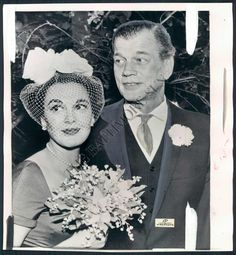 actress Patricia Medina & Actor Joseph Cotten...married many years.  Patricia passed away in April 2012 at age 92.
