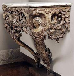 Консольный столик. Франция, 1720-е гг.