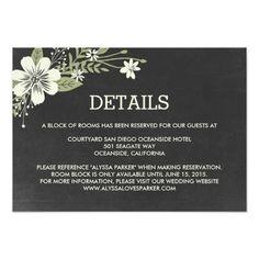 wedding my wedding wedding reception cards enclosure cards wedding ...