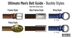 Planning to buy a belt? How do you choose the right belt size? This post is the ultimate guide to men's belts. Big Men Fashion, Fashion Over 50, Every Man, Ring, Men's Belts, Shopping, Big Guy Fashion, Rings, Tall Men Fashion