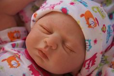 Lane baby doll....close up of face