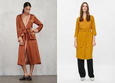 Comfy robe dresses.