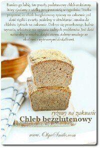 Chleb bezglutenowy ryżowy na zakwasie Cornbread, Banana Bread, Rolls, Gluten Free, Healthy Recipes, Ethnic Recipes, Desserts, Food, Millet Bread