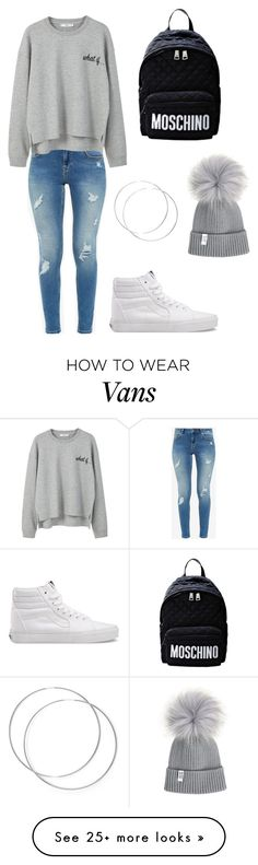"""Untitled #23"" by cwscherese on Polyvore featuring Ted Baker, MANGO and Vans"
