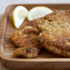 Herbed Chicken Cutlets with Panko and Parmesan Recipe on Food52 recipe on Food52