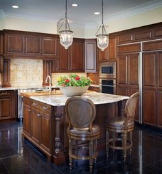 Spruce up your kitchen with this clean new design.   #customcabinetry #kitchen #design #dimensionsdesigncenter