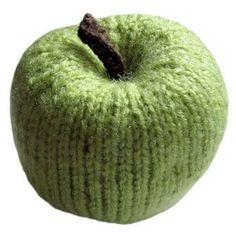 Whole Apple ~ Free Knitting Pattern