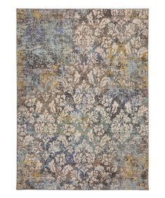 This Blue & Slate Atladena Rug is perfect! #zulilyfinds