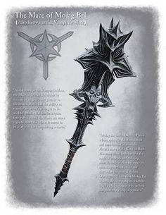 Mace of Molag Bal by Ray Lederer