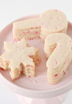 Candy Cane Cut Out Sugar Cookie Recipe Just a taaaad bit early, I hope you can forgive me for sharing my jolly St. Nick cookies with you in early November! I plan hope to be sharing my Christmas sweets with you weekly Chocolate Chip Shortbread Cookies, Candy Cane Cookies, Toffee Cookies, Spice Cookies, Xmas Cookies, Christmas Cut Out Cookies, Christmas Sugar Cookie Recipe, Peppermint Cookies, Drop Cookies