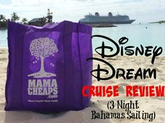 Disney Cruise Lines Review – Disney Dream 3-Night Bahamas - Check out this in-depth review of a cruise on the Disney Dream from Florida to the Bahamas! LOTS OF PICTURES!
