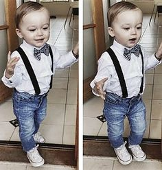 Toddler Suspenders Outfit Gallery black suspenders bow tie beau hudson little boy outfits Toddler Suspenders Outfit. Here is Toddler Suspenders Outfit Gallery for you. Baby Boy Suspenders, Baby Boy Bow Tie, Suspenders Outfit, Black Suspenders, Boys Bow Ties, Little Boy Outfits, Cute Outfits For Kids, Toddler Outfits, Baby Boy Outfits