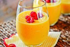 Peach-Mango Smoothies