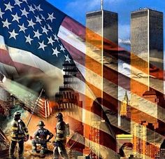 Never Forget 14 years ago today America awoke to the live broadcasting of the horrific attack on New York's Twin Towers of the World Trade Center. Not only did they collapse, but people were . 11 September 2001, Remembering September 11th, I Love America, God Bless America, Patriotic Pictures, We Will Never Forget, United We Stand, Historia, Flag