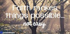 I never said it would be easy, I said it would be worth it - facebook.com/jesusisalifestyle