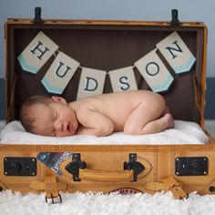 25 Ways to Make Your Newborn's Photo Shoot Over-the-Top Adorable: Every newborn photo shoot is adorable on its own, but add in one of these too-cute-for-words props, and it'll instantly be elevated to the next level.