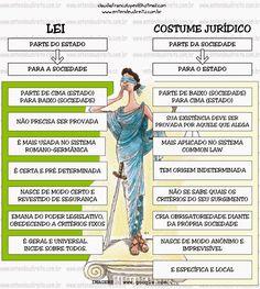 lei X costume jurídico