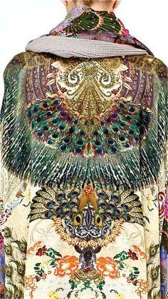 """felixursula: """" Peacock """""""