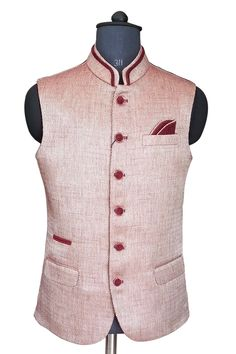 924f77ff36e Stylish nehru jacket. Party Wear Indian Dresses