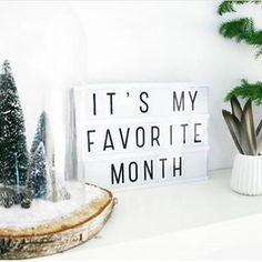 Lightbox A4 | Favorite Month