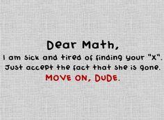 stupid math!