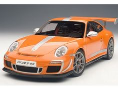 The Autoart 1/18 Porsche 911(997) GT3 RS 4.0 In Orange is a  superbly detailed diecast car and is part of the Autoart 1/18 collection.