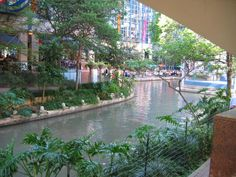 San Antonio, TX...  Riverwalk and The Alamo.