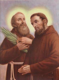 Santos, Beatos, Veneráveis e Servos de Deus: Beatos Agatângelo e Cassiano, presbíteros e mártir...