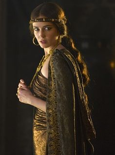 Eva Green as Morgan Pendragon in Camelot (TV Series, 2011).