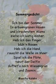 Gedicht rilke sommer