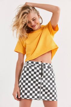 2bdfb0d2d4 11 Best checkered skirt images in 2018 | Checkered skirt, Couture ...