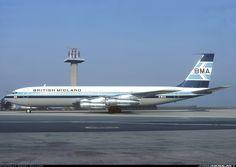 British Midland Airways - BMA G-BFLE Boeing 707-338C aircraft picture