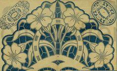 antiguo francés bordado richelieu flores rubbon por FrenchFrouFrou