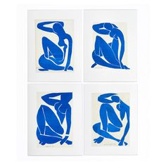 Painting with scissors: Matisse's cut-outs at Tate Modern - art - Kunst Matisse Drawing, Matisse Paintings, Matisse Art, Matisse Tattoo, Matisse Prints, Henri Matisse, Tate Modern Art, Modern Wall, Matisse Cutouts
