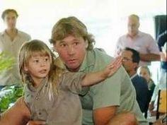 Steve & Bindi Irwin - Father and Daughter