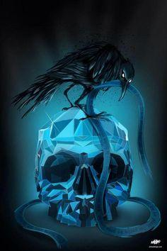 by ArTnodesign #skulls