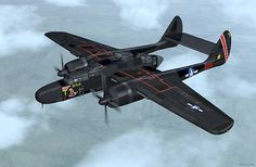 "Northrop P-61 Blackwidow Jack Northtrop claimed: ""Anything a P-51 or a P-38 could do, the black widow could do it better"""