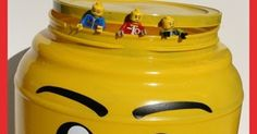 If you've ever stepped on a Lego you know the importance of having easy Lego storage for kids. I made these large Lego mini figure head sto...