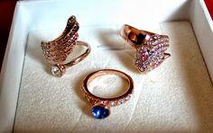 So many lovely rings...