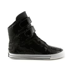 Shop for Womens Supra Society Skate Shoe in Black at Journeys Shoes. Shop today for the hottest brands in mens shoes and womens shoes at Journeys.com.A new high-top skate kick from Supra, the Society rocks a synthetic upper covered in shiny sequins while featuring a pair of hook and loop straps for quick and easy fastening, a padded mesh collar, and a durable rubber outsole. The Society from Supra, its fresh, swag, and has just the right amount of flash.
