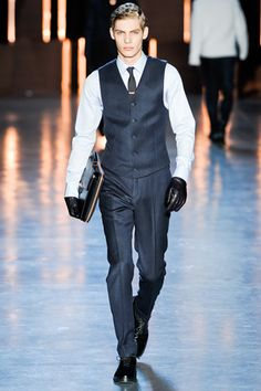 great professional, yet causal look. perfect with or without a coat. fall 2012 menswear: Z Zegna