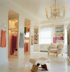 DREAM closet for my dream home --------------------------- For tips on how to create your dream #wardrobe, visit my Blog!! www.jensetter.com/2013/10/organizing-tips.html ---------------------------